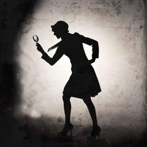 GIRL DETECTIVE, photography & photo composites by ANDREA MILLETTE